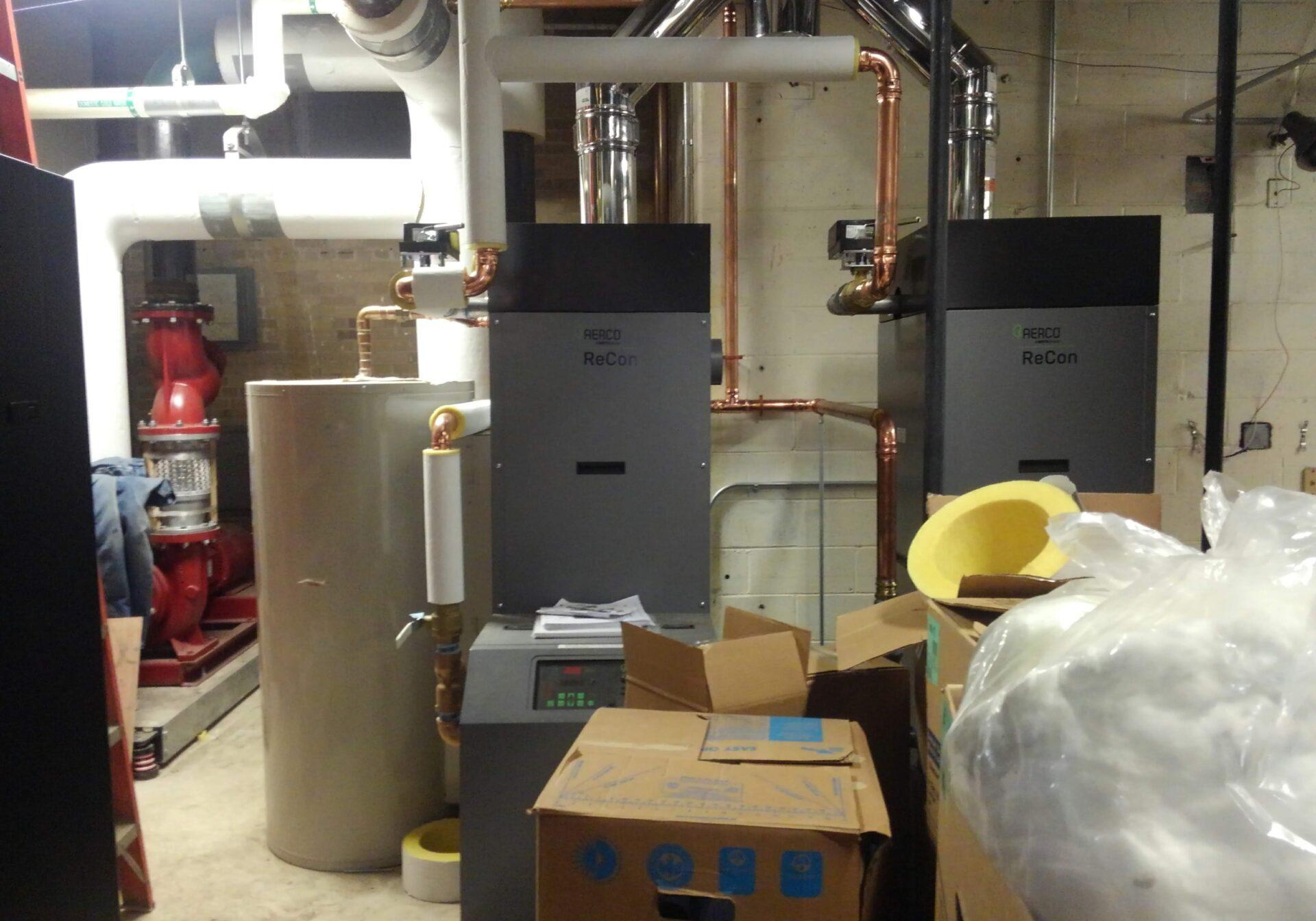 On-demand hot water heaters - Shawnee HS